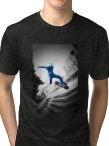 Frozen Skater Tri-blend T-Shirt