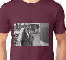 Collector, On the Way to M.Cartier Bresson Paris 1975 4 (n&b)(t) by Olao-Olavia par Okaio Création konica T3 zoom vivitar série 1, 70.210 F/3.5 HP5 Unisex T-Shirt