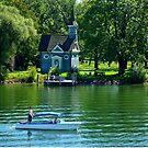 lake chiemsee herreninsel by Daidalos