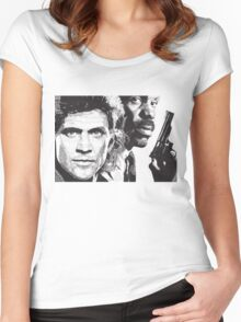 Lethal Weapon Women's Fitted Scoop T-Shirt