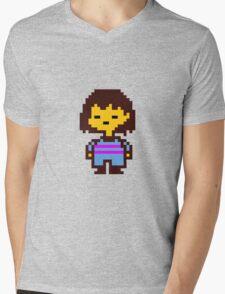 Frisk- Undertale Mens V-Neck T-Shirt