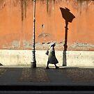 Via di Porta Angelica, Rome by Nicholas Coates