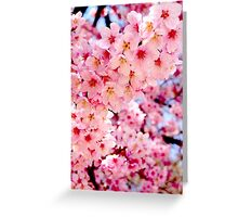 Thick Blossom Greeting Card