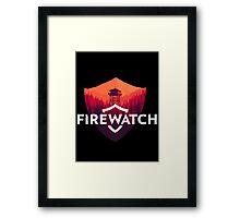 Firewatch Framed Print
