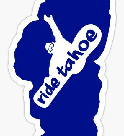 Ride Lake Tahoe (snowboarder) Sticker