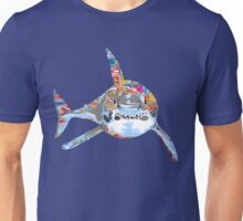 Graffiti shark Unisex T-Shirt
