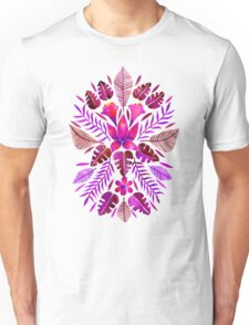 Tropical Symmetry – Magenta Unisex T-Shirt