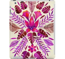 Tropical Symmetry – Magenta iPad Case/Skin