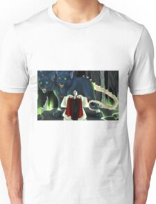 Cruella and Cerberus Unisex T-Shirt