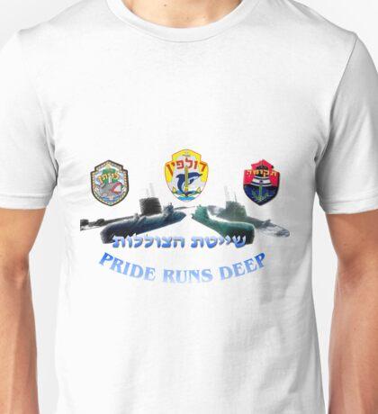 Dolphin Class: Pride Runs Deep Unisex T-Shirt