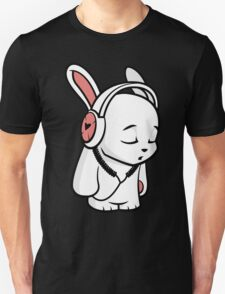 Love Music Cartoon Bunny T-Shirt