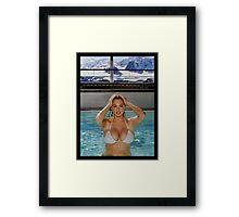 Kate Upton Framed Print