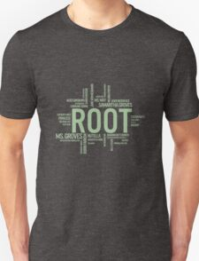 Root Identities - Person Of Interest - Black T-Shirt