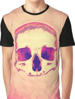 Pink Death Graphic T-Shirt