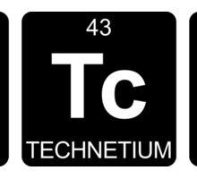 Bi Tc H - Bitch - Periodic Table - Chemistry Sticker