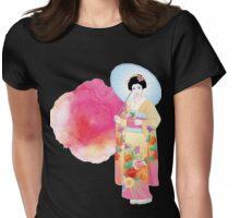 Japanese Kimono Womens Fitted T-Shirt