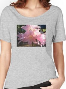 Flamingo Flowers Women's Relaxed Fit T-Shirt