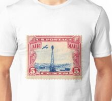 Air Mail Stamp Unisex T-Shirt