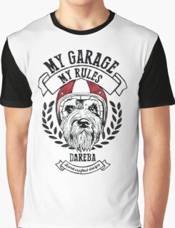 My garage, My rules Graphic T-Shirt