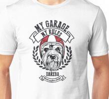 My garage, My rules Unisex T-Shirt