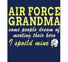 Air Force Grandma Photographic Print