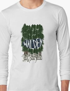 Walden (colour) Long Sleeve T-Shirt