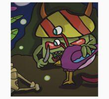 zombie mushroom night time feast  One Piece - Long Sleeve
