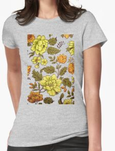 60's Vintage Wallpaper  Womens Fitted T-Shirt