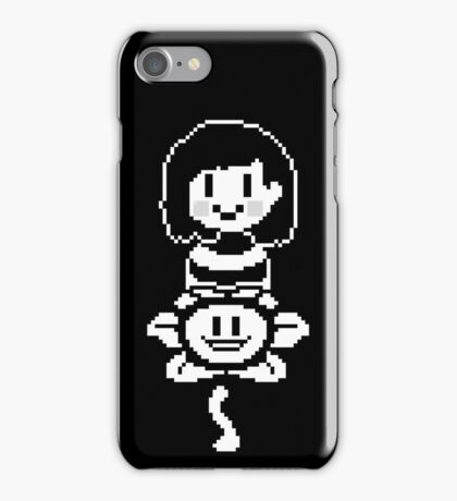 Flowey and Chara- Undertale iPhone Case/Skin