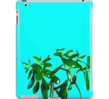Good Luck Succulent Tree on Sky Blue iPad Case/Skin