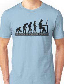 computer evolution Unisex T-Shirt
