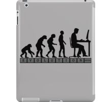 computer evolution iPad Case/Skin