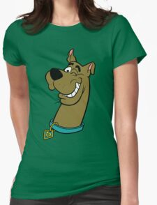 Scooby Doo 3 Womens Fitted T-Shirt