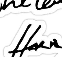 All The Love - Harry. Sticker