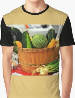 Eggs and vegetables Graphic T-Shirt