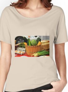 Eggs and vegetables Women's Relaxed Fit T-Shirt