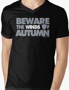 Beware the Winds of Autumn Mens V-Neck T-Shirt