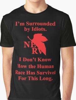 I'm Surrounded by Idiots Graphic T-Shirt