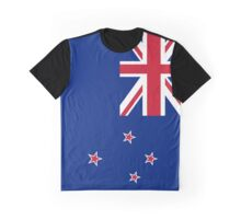 New Zealand Flag Graphic T-Shirt