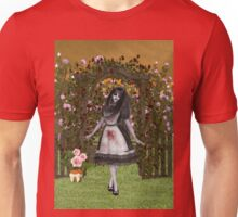 Rose Garden at Halloween Unisex T-Shirt