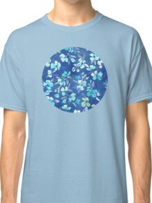 Grown Up Betty - blue watercolor floral Classic T-Shirt