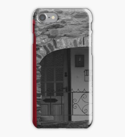 old fashioned telephone box iPhone Case/Skin