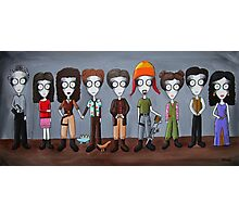Firefly Characters, spookified. Photographic Print
