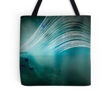 6 month exposure overlooking the Beachy head lighthouse. Tote Bag