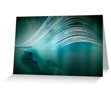 6 month exposure overlooking the Beachy head lighthouse. Greeting Card