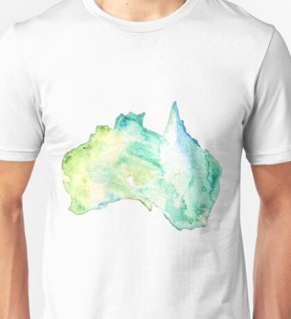 Australia Watercolor  Unisex T-Shirt
