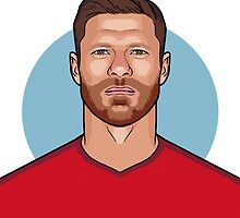 Xabi Alonso by palomedridista