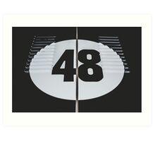48 Art Print