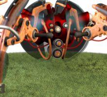 Futuristic Demolition Robot Sticker
