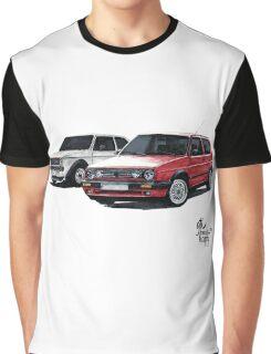 Golf GTI mk1 mk2 Graphic T-Shirt
